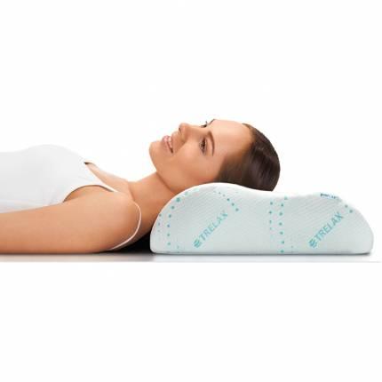 Подушка ортопедическая TRELAX с эффектом памяти под голову, арт. П05 RESPECTA