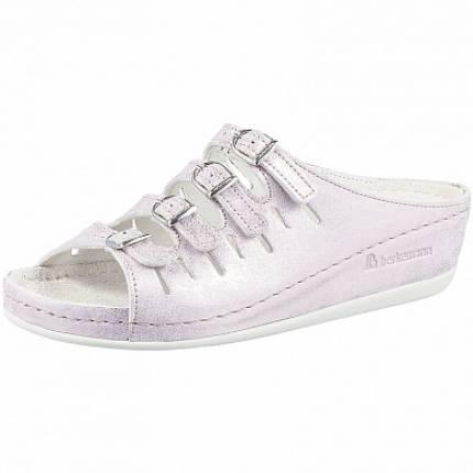Обувь ортопедическая готовая Hassel (розовый/серебро)