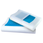 Анатомическая подушка с охлаждающим гелем