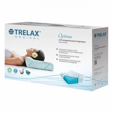 Подушка ортопедическая TRELAX под голову П01 OPTIMA