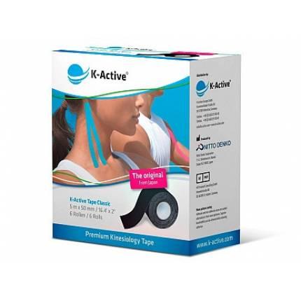Лента эластичная клейкая K-Active Tape Classic 5см х 5м