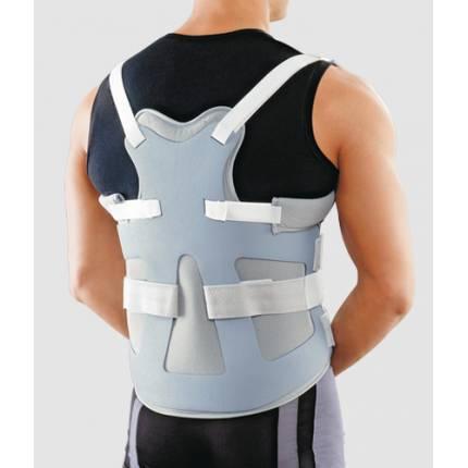 Корсет грудо-поясничный жесткий с пластиковой рамой LSO-991